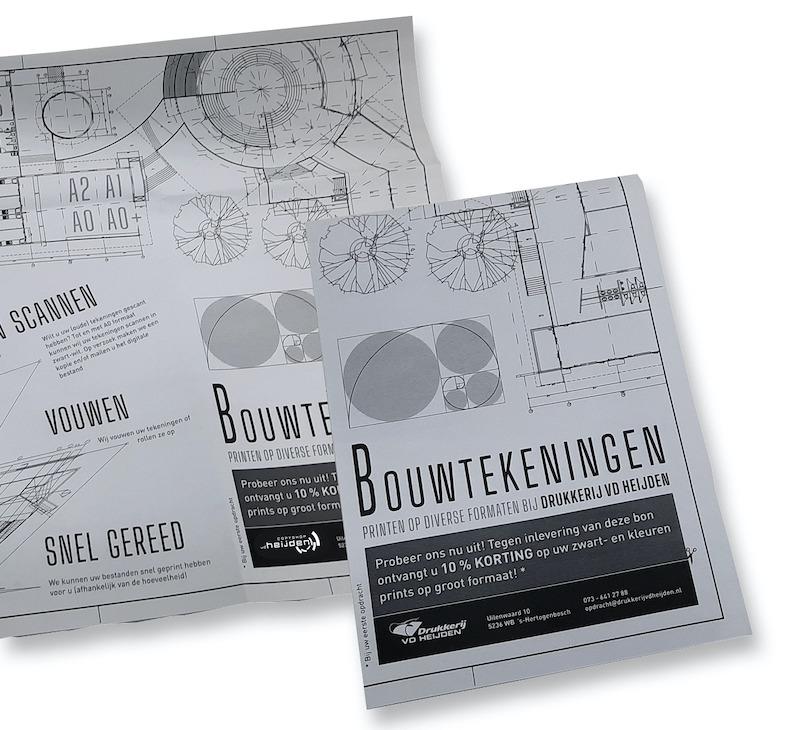 Bouwtekeningen laten printen , Copyshop Den Bosch