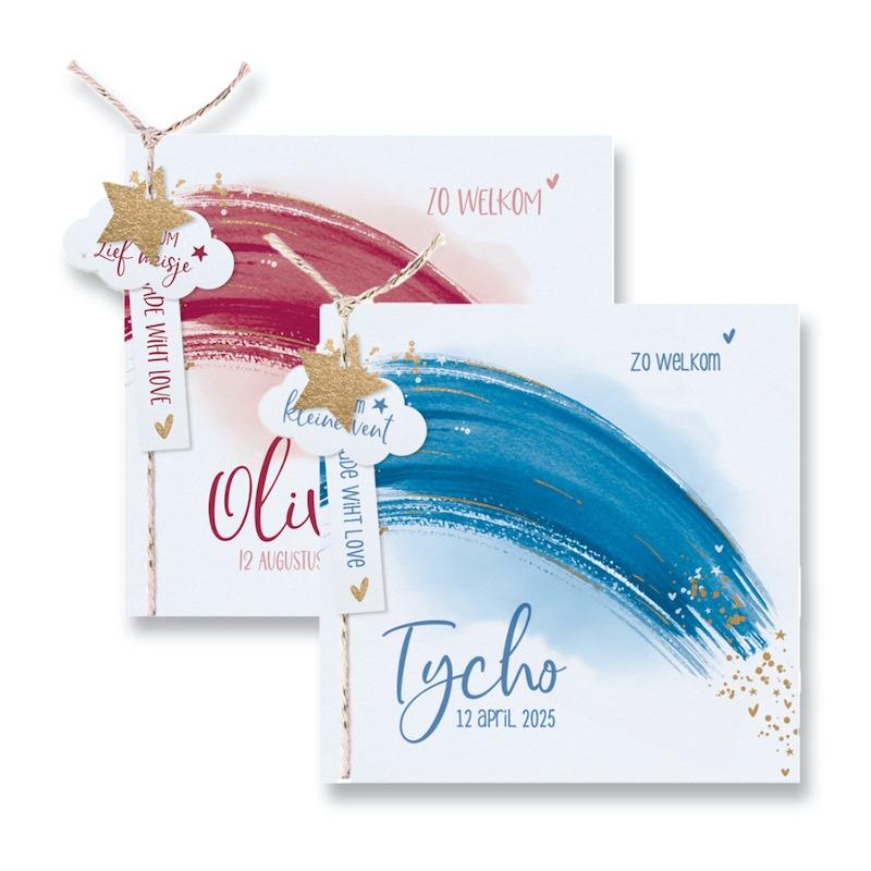 Geboortekaartjes drukken, geboortekaarten drukken, Copyshop Den Bosch