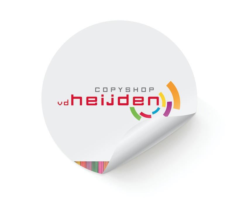 Stickers laten drukken, Drukkerij Den Bosch, Copyshop vd Heijden